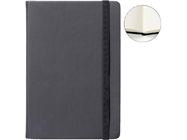 Notitieboek Quantore A5 zwart lijn