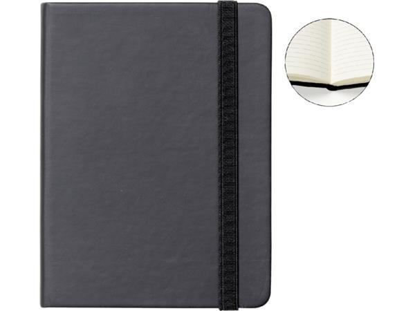 Notitieboek Quantore A6 zwart lijn